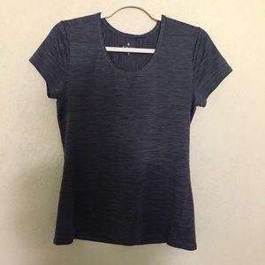 Athleta Charcoal Gray Tee Shirt Size Medium